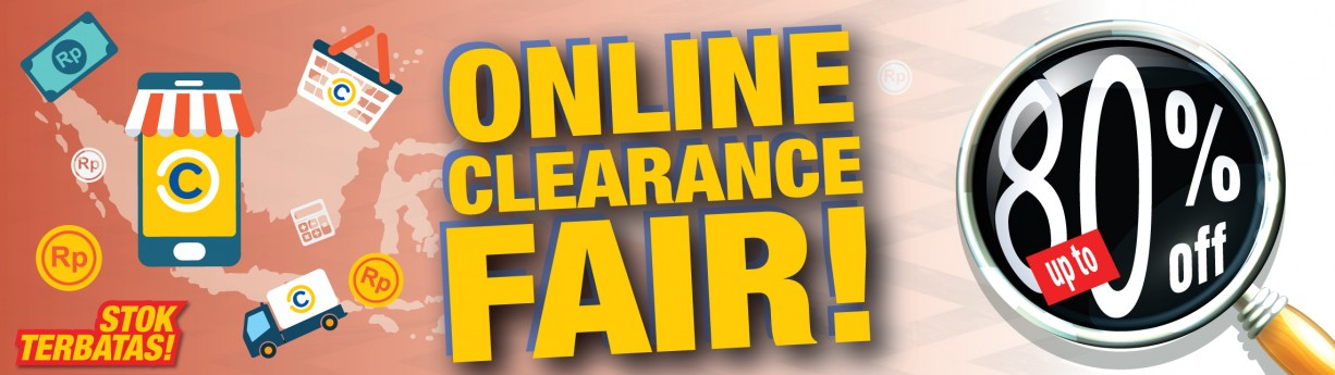 Online Clearance Fair!