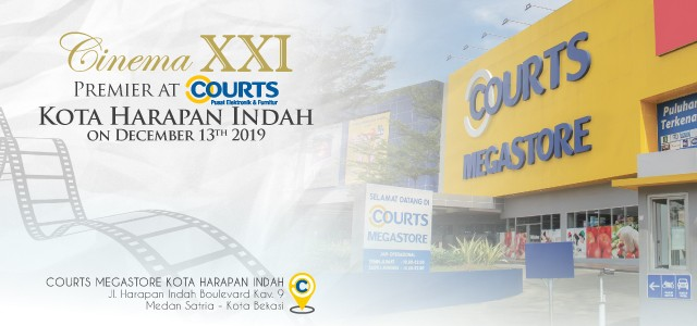 Cinema XXI Premier at Courts KHI